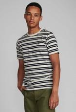 Anerkjendt Anerkjendt Akrod T-shirt Blue Stripe