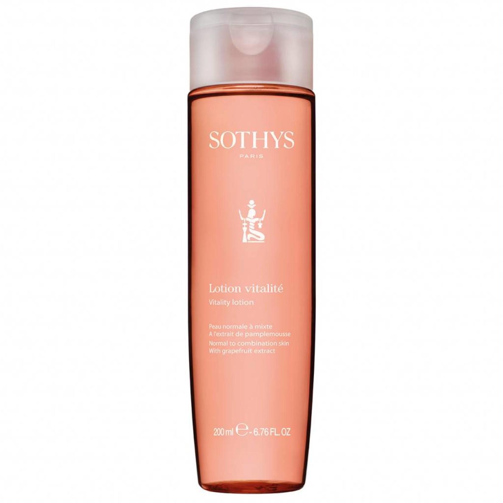 Sothys vitaliserende lotion voor de gevoelige en gemengde huid