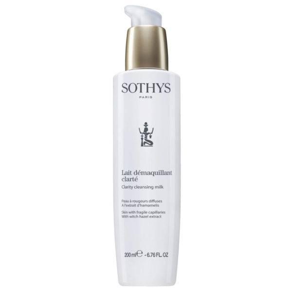 Sothys reinigingsmelk voor huid met rode vlekken