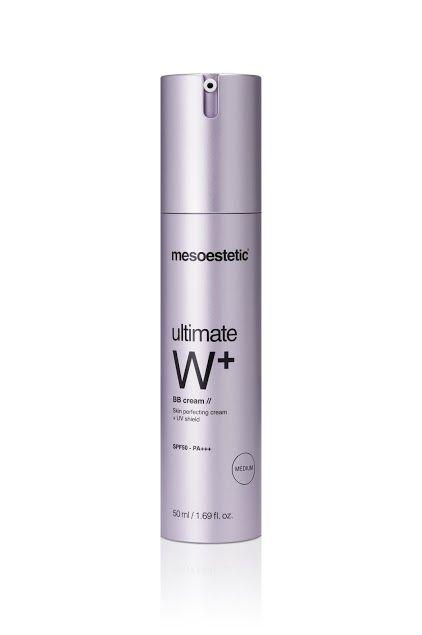 Mesoestetic Mesoestetic multi-actieve verzorgingscrème die hydratatie,hoge bescherming en make-up combineert om uw teint te unificeren