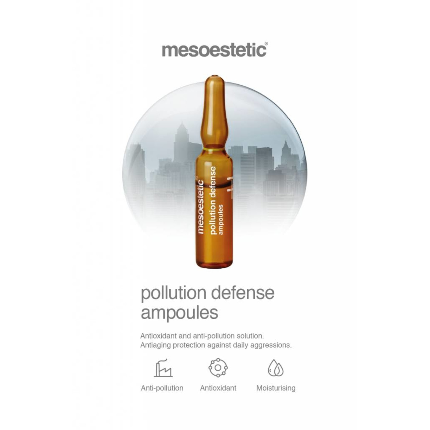 Mesoestetic Antioxidant en antivervuilingampoules