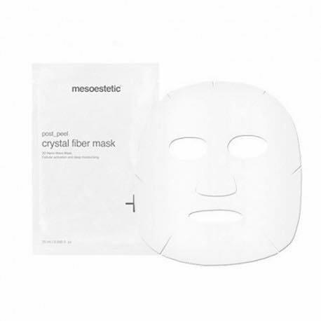 Mesoestetic 3D Hydraterend vliesmasker Crystal Fiber Mask