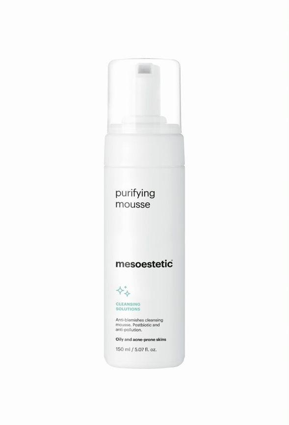 Mesoestetic Reinigingsschuim voor de vette,( acné)huid