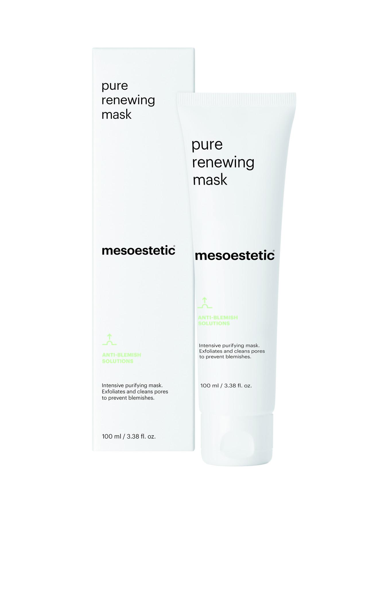 Mesoestetic Peelend en zuiverend masker 2 in 1