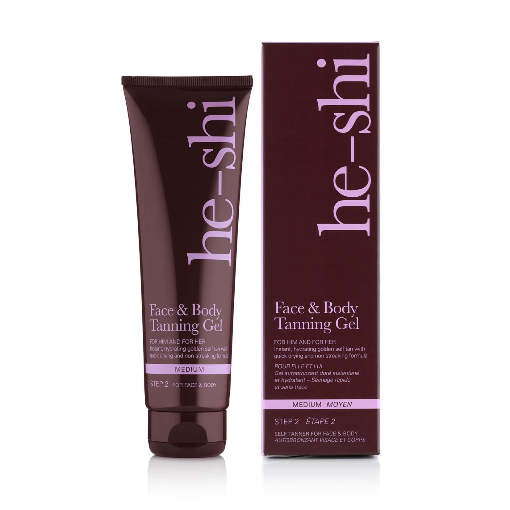 He-shi Face + Body Tanning gel (6% DHA)