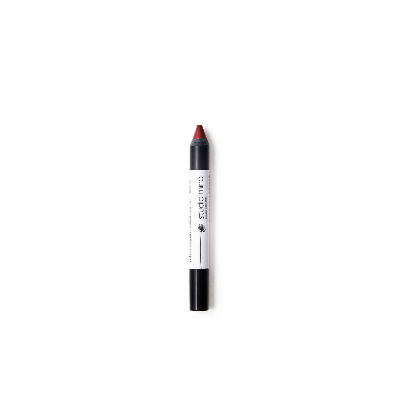 Studio mino Velvet Vegan Lipstick Potlood Earth