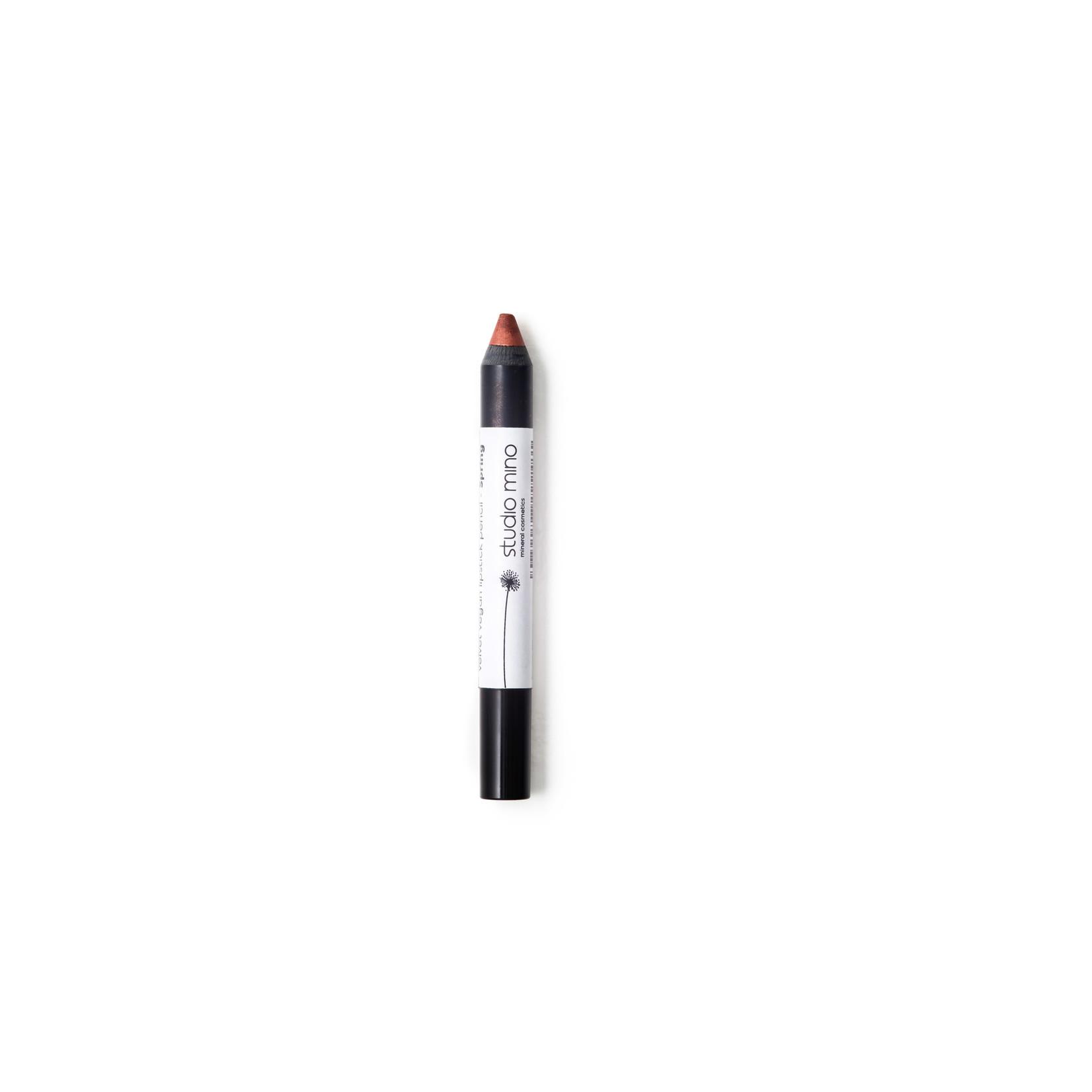 Studio mino Velvet Vegan Lipstick Potlood Spring