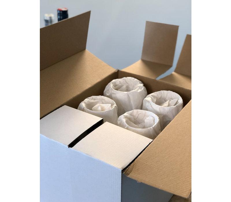 Gabriel-Glas Gold Edition Industrial box met 6 glazen