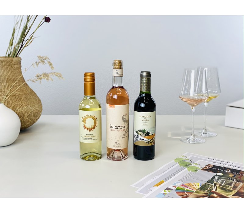 Mini-Wijntrip | Virtuele begeleiding Vinoloog