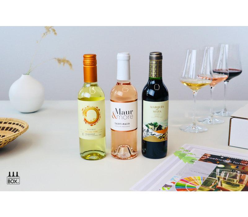 Mini-Wijntrip | Live begeleiding Vinoloog