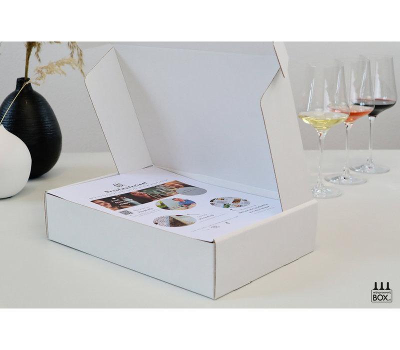 Mini-Wijntrip Populair Elegant Wit