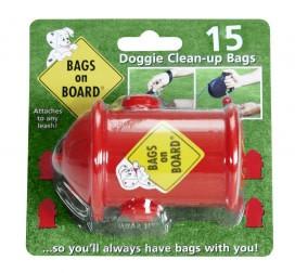 Bags on board Poepzakhouder doosje als brandweerspuit +rol