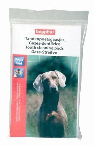 Beaphar Dog-A-Dent tanden poets gaasjes 24St