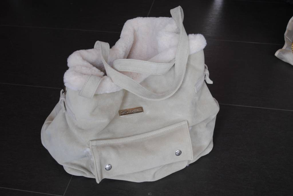 Lella Su daim bag (ale)