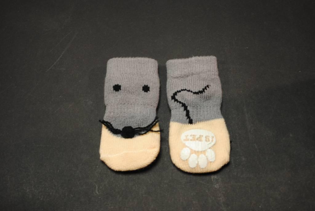 Is Pet Walking Pet Socks gezicht