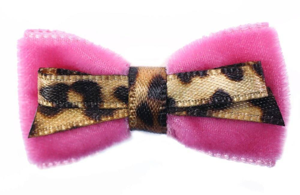 Charlotte's dress Haarspeld leopard / roze
