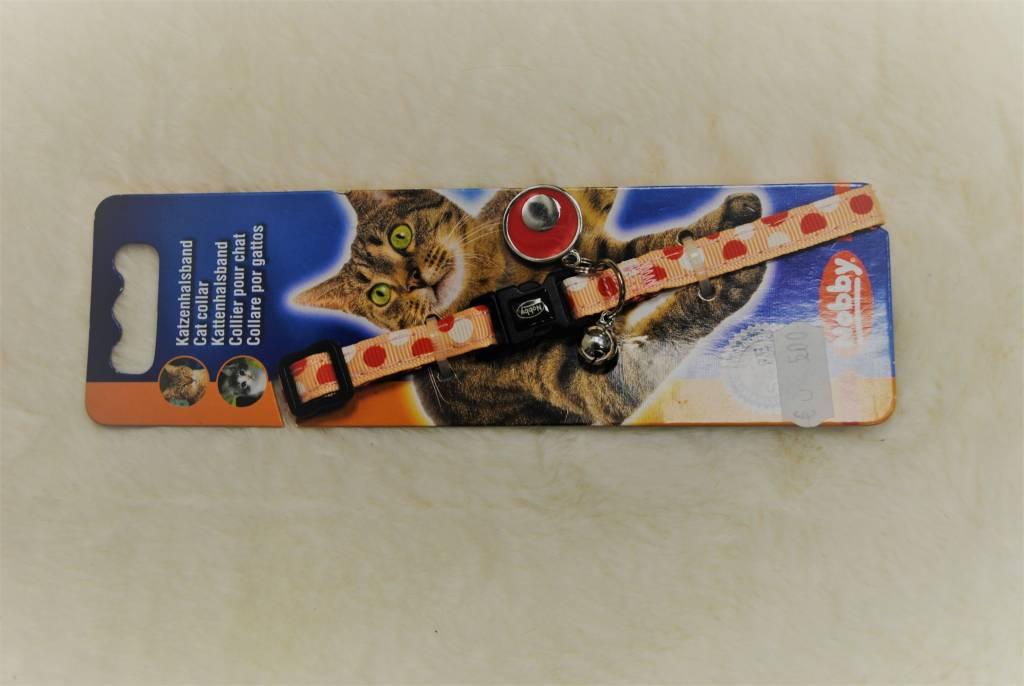 Nobby kattenhalsband click dots