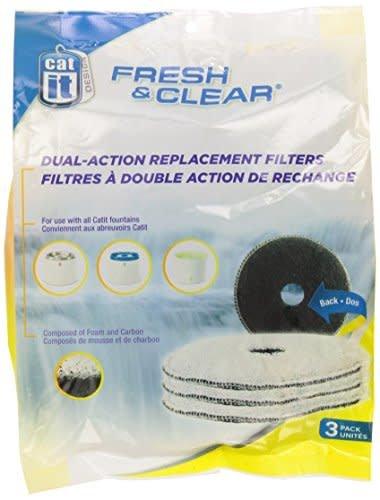 cat it Filter Fresh & Clear 2L 3 st