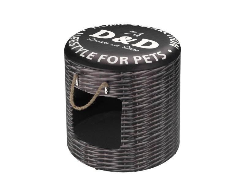 D&D kattenslaapbox riet
