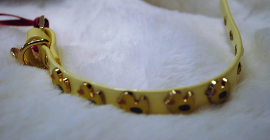 Charlotte's dress geel met eendjes 20cm
