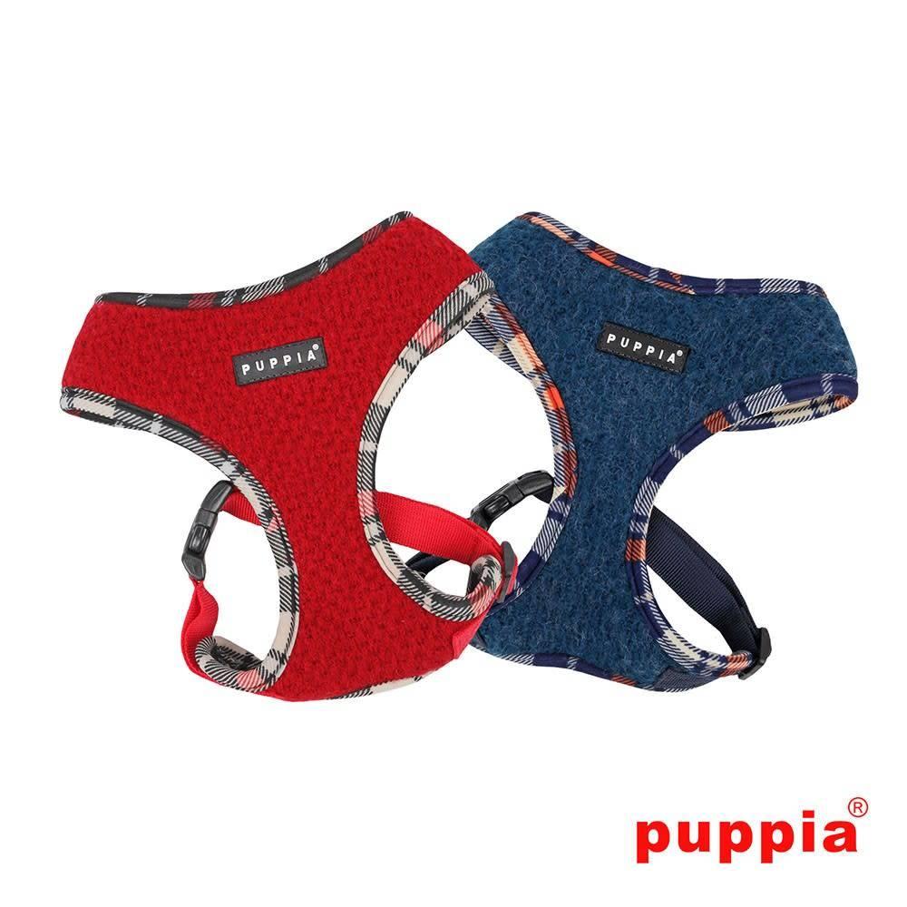 Puppia Harnas L = max 60cm borstomtrek blauw