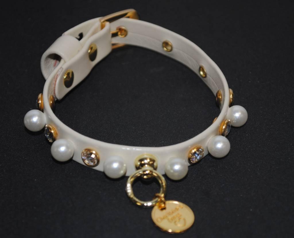 Charlotte's dress Jadine beige pearl
