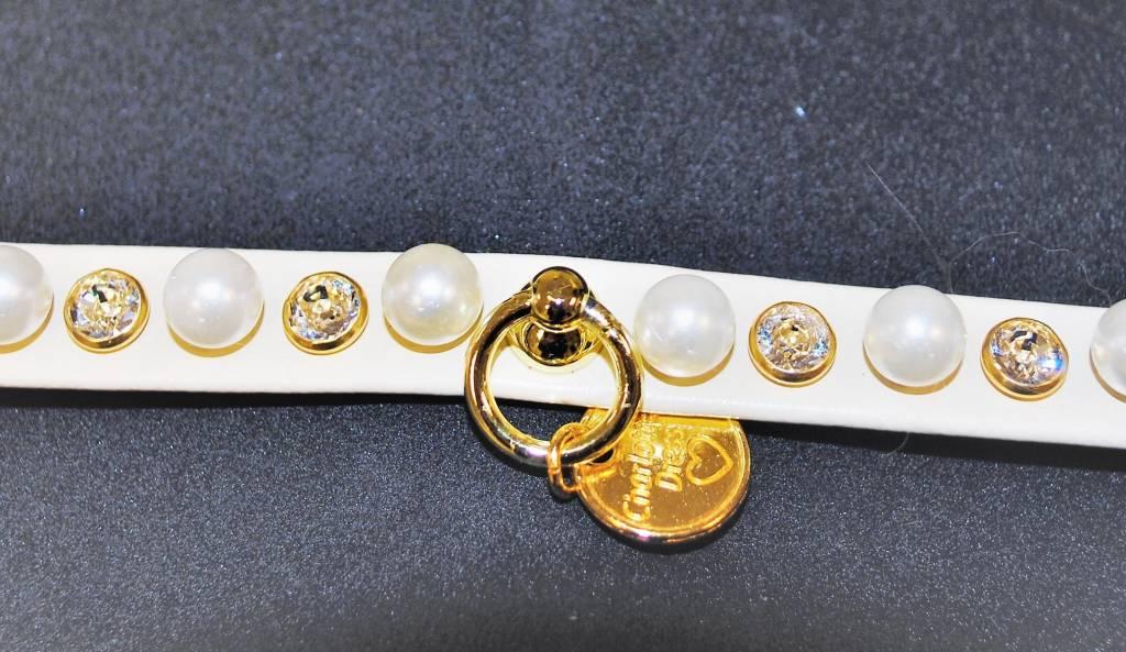Charlotte's dress Jadine beige pearl 25cm