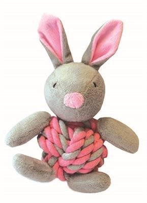 touw / pluche konijn