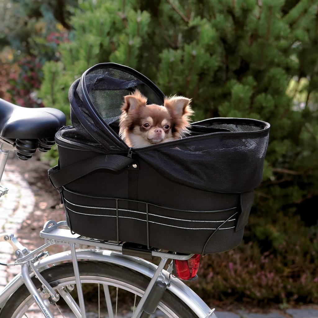 Trixie fietsmand nylon achteraan
