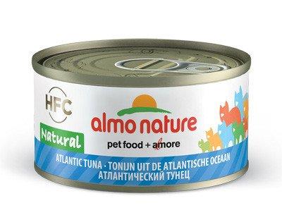 almo Atlantische tonijn natural 70gr