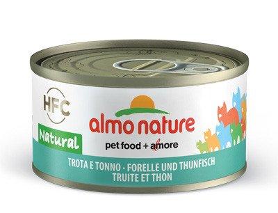 almo forel en tonijn natuur