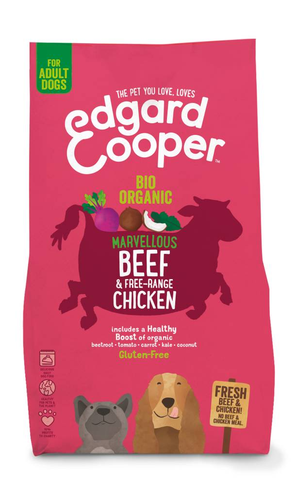Edgard & Cooper 700 gr Bio rund en kip
