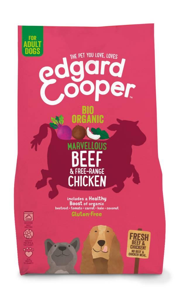Edgard & Cooper 2.5 kg BIO rund en kip