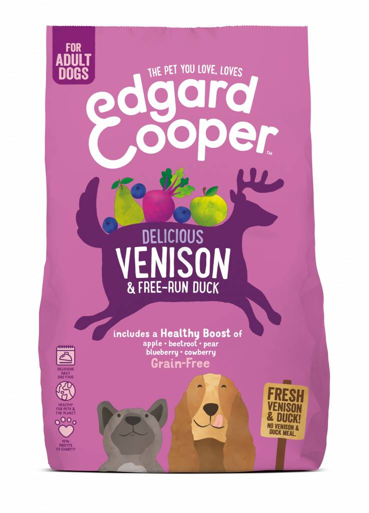 Edgard & Cooper 2.5 kg wild en eend