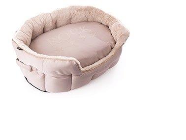 Martin Sellier corbeille ovale rock beige
