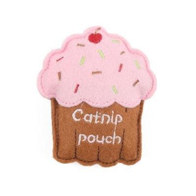 happy pet catnip cupcake