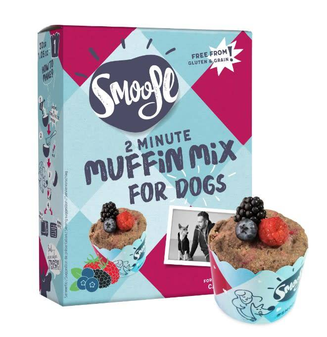 Smoofl muffin mix  185gr