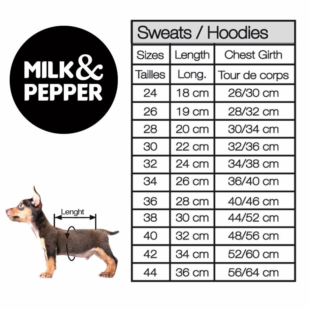 Milk&pepper sweater Jungle 36cm
