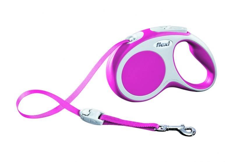 Flexy flexi lint XS ( tot 12kg) 3m roze