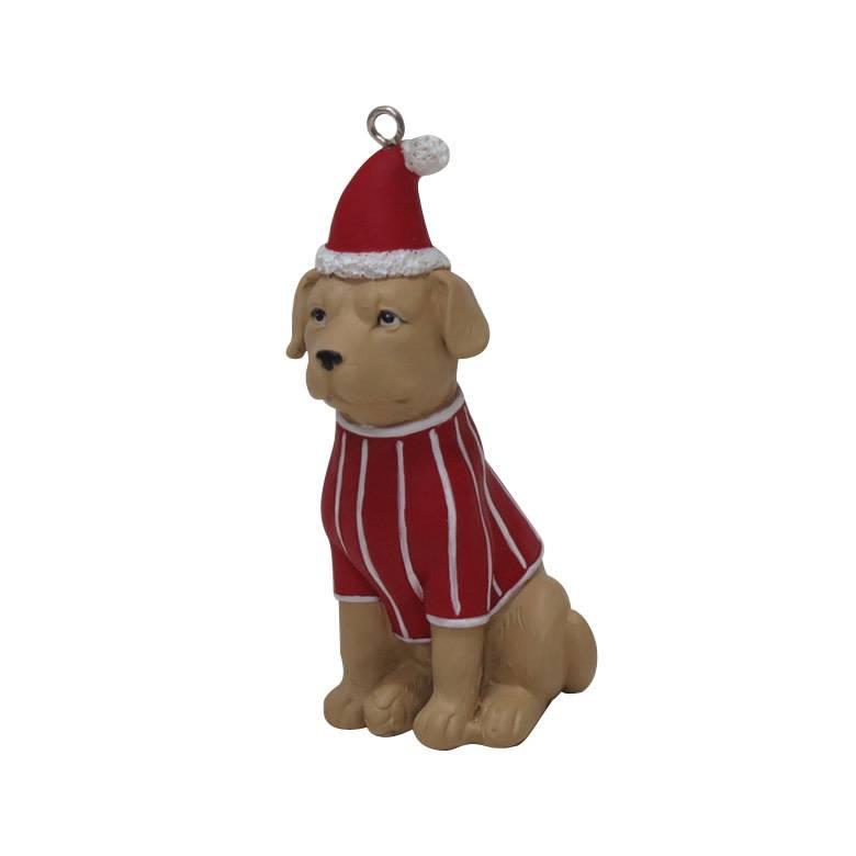 Happy house kerstboomhanger : zittend