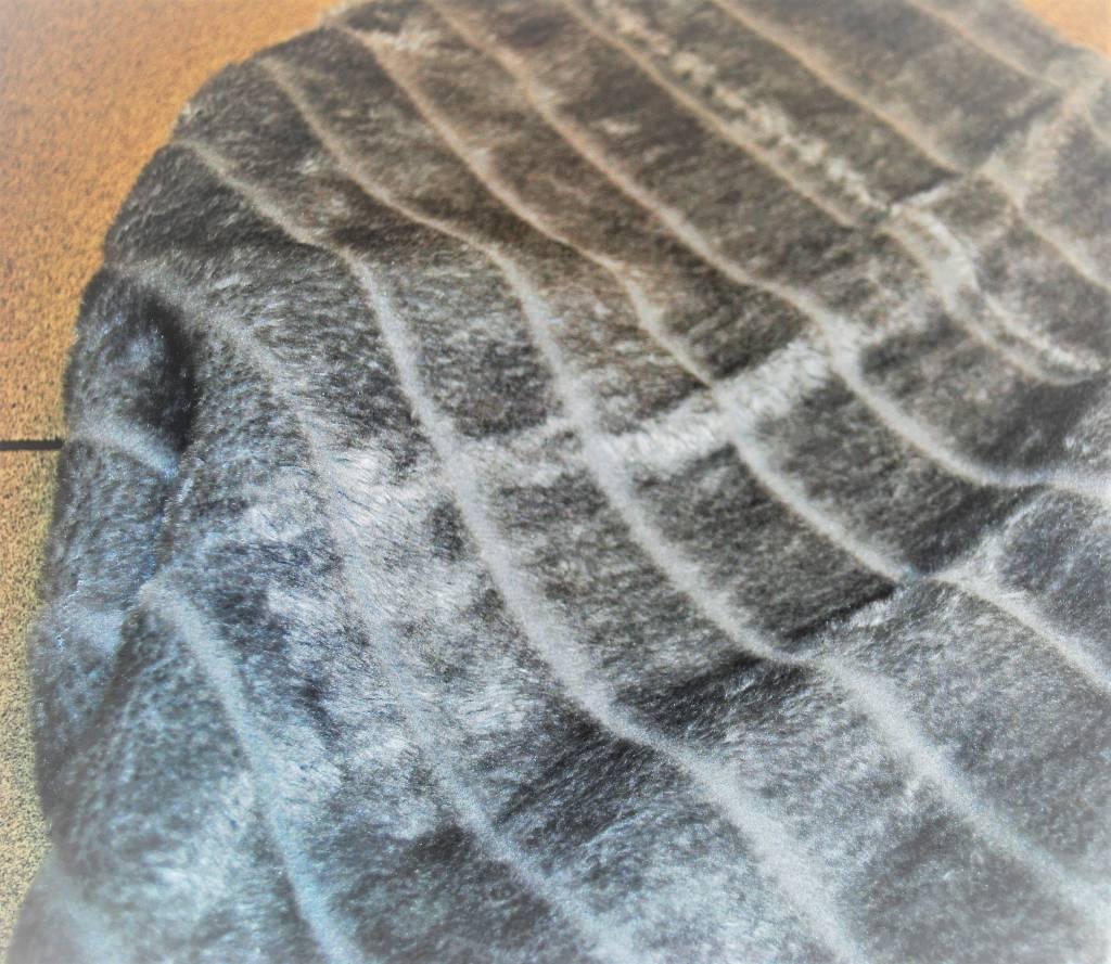 Snoef plaid grijs