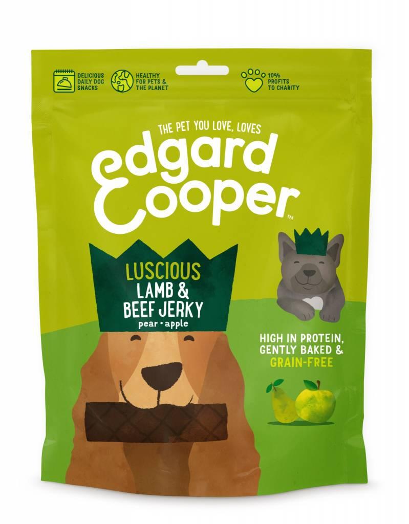 Edgard & Cooper dog jerky lam en rund 150gr