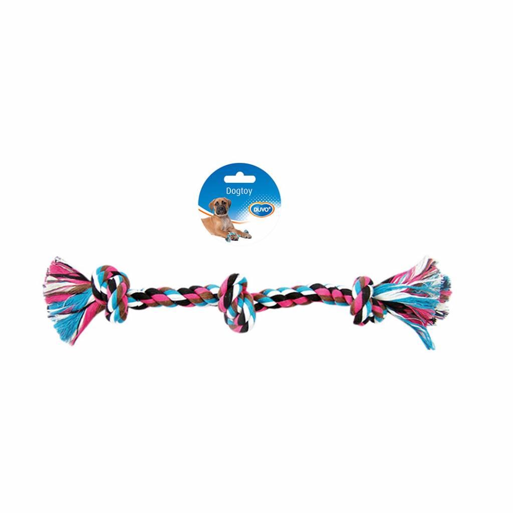 Laroy touw 3 knopen multicolor 37.5cm