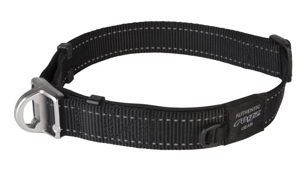 Rogz magnetische halsband zwart