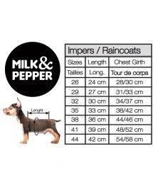 Milk&pepper windbreaker Norman