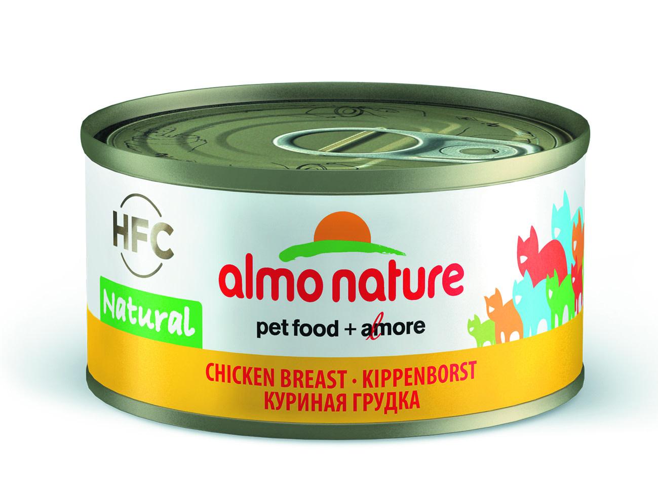 almo almo natural kippenborst 70gr