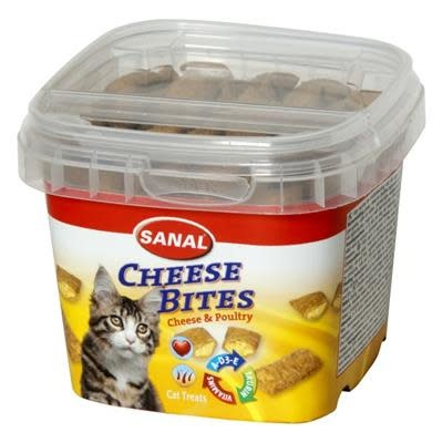 sanal catsanal cheese bites cup 75gr