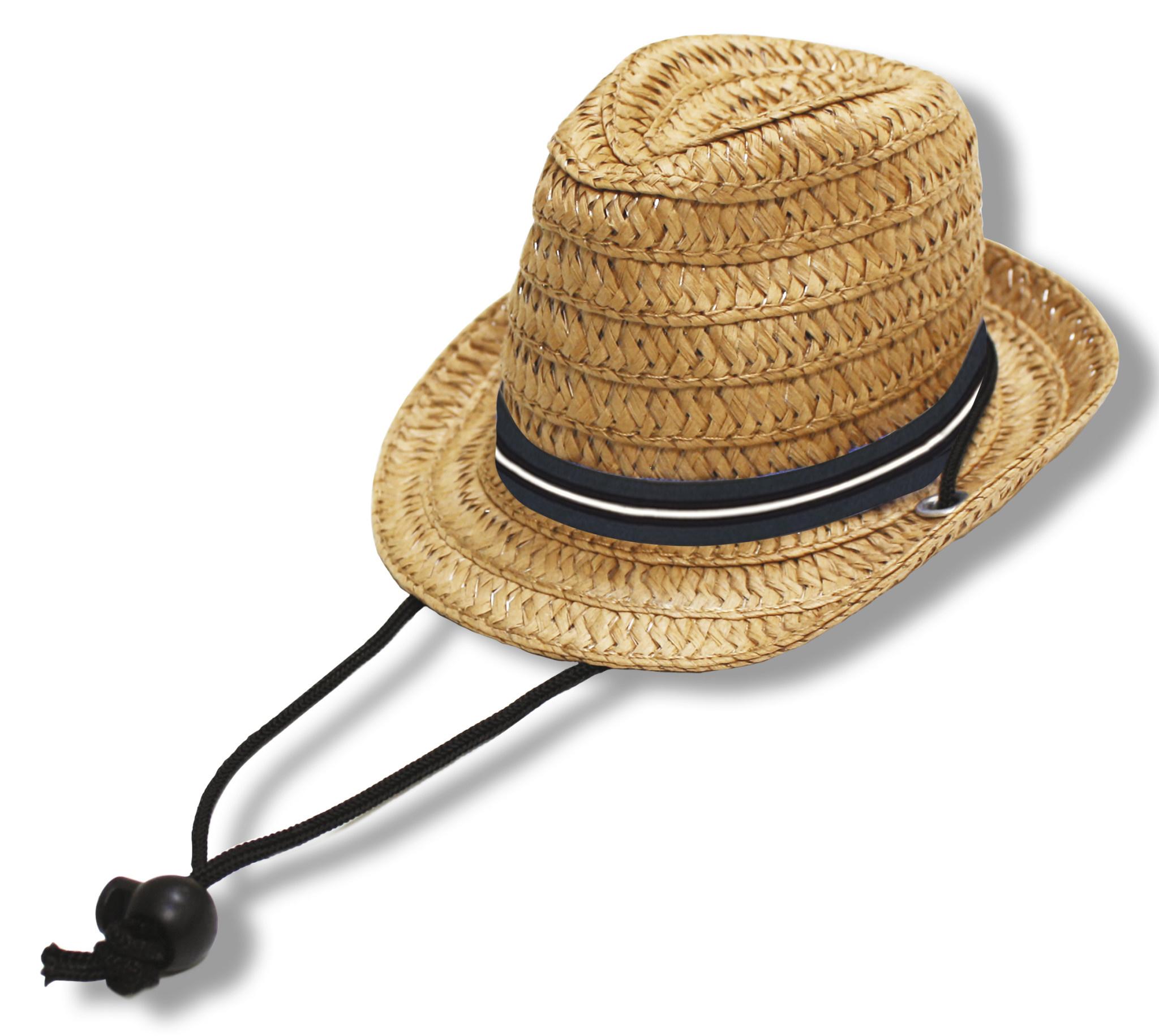 Croci stro hoed panama