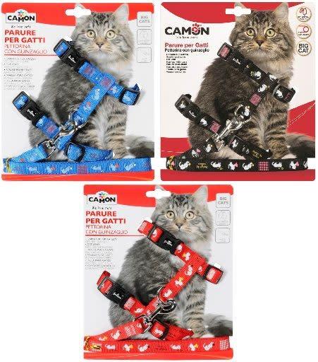 camon grote katten harnas
