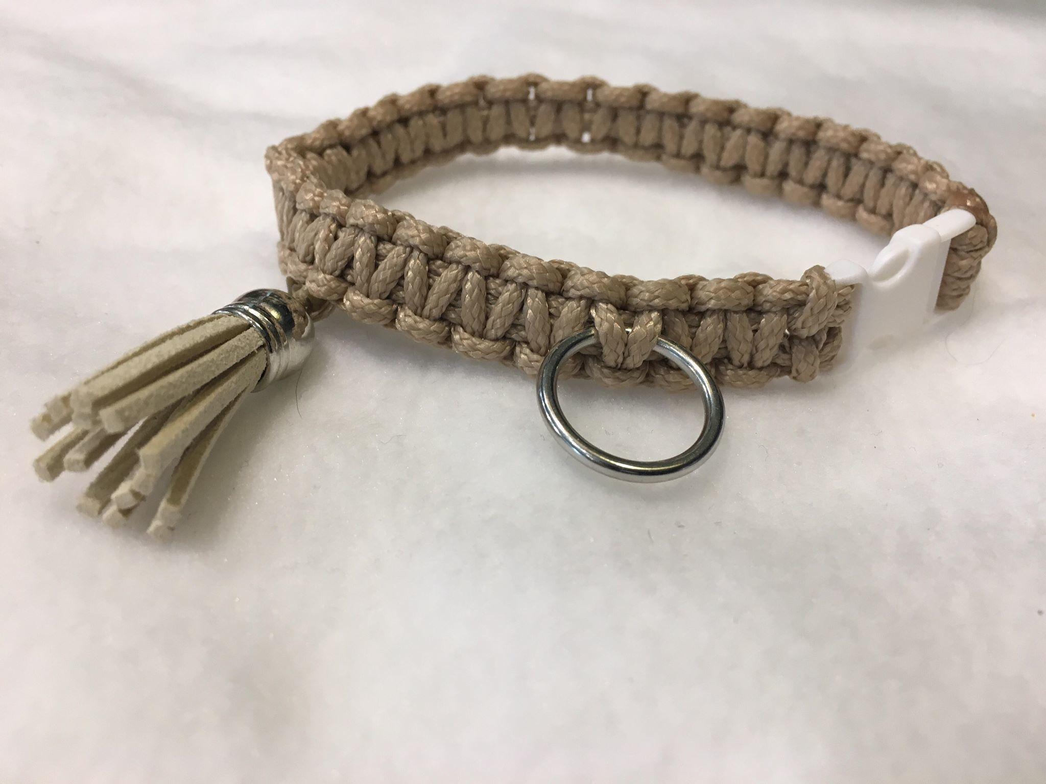 Snoef halsband fijne draad cobra